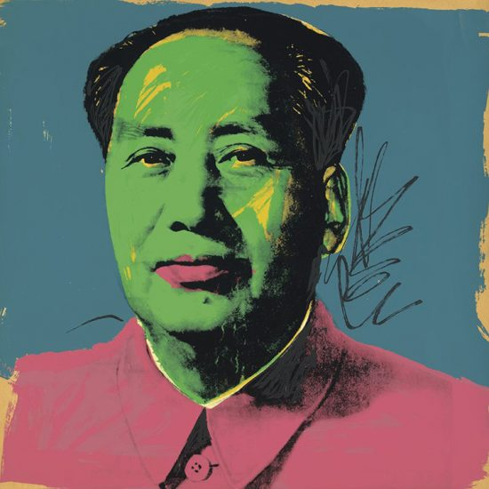 Andy Warhol Screen Print, Mao 93, 1972