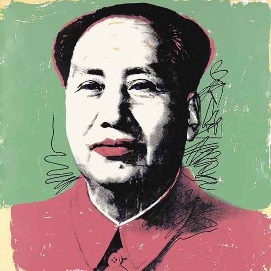 Andy Warhol Screen Print, Mao 95, 1972