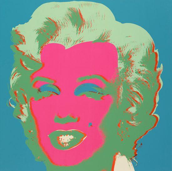 Andy Warhol Lithograph, Marilyn Monroe (Marilyn), 1967