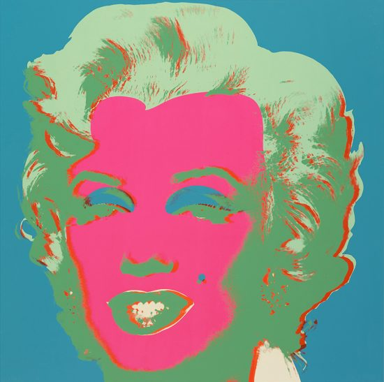 Andy Warhol Screen Print, Marilyn Monroe (Marilyn), 1967