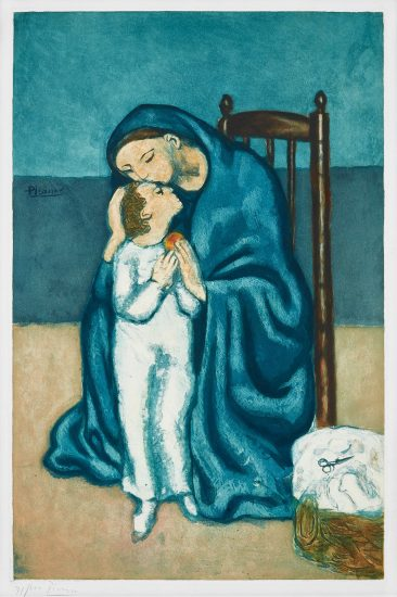 Pablo Picasso Aquatint, Maternité, 1930