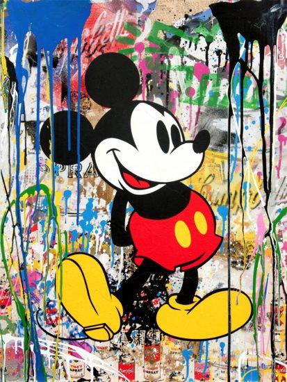Mr. Brainwash Silkscreen, Mickey, 2018