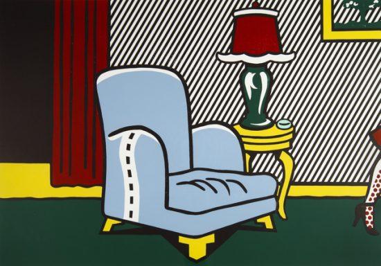 Roy Lichtenstein Woodcut, La Sortie, 1990