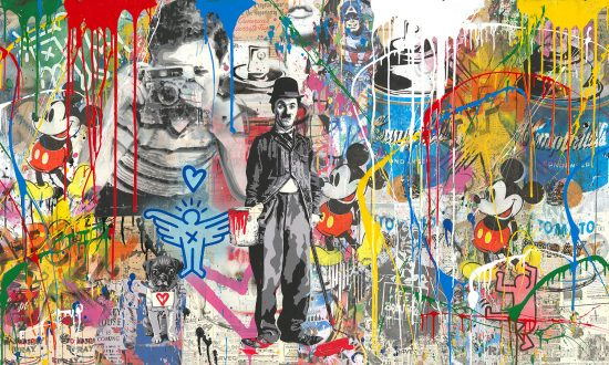 Mr. Brainwash Silkscreen, Mixed Wall, 2018