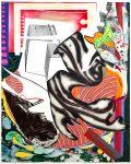 Frank Stella Mixed, Moby Dick from The Waves, Unique Color Trial Proof, 1989