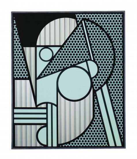 Roy Lichtenstein Lithograph, Modern Head #4, 1970, C.94
