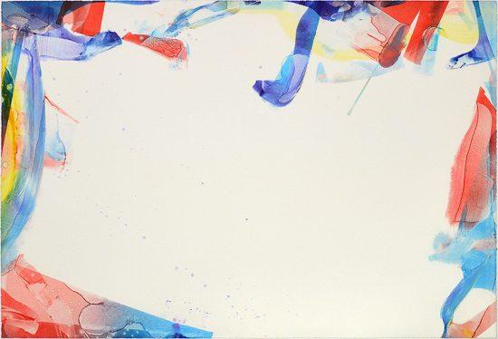 Sam Francis Monotype, Monotype in Acrylic Untitled, 1966