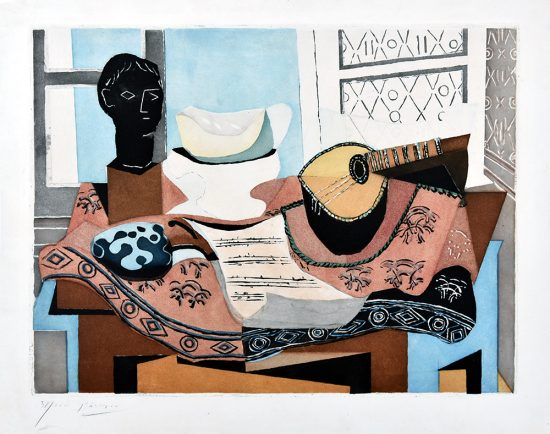 Pablo Picasso Lithograph, Nature Morte, 1927