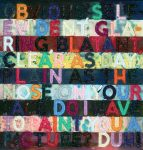 Mel Bochner Monoprint, Obvious, 2014
