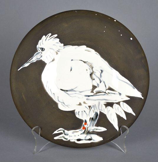 Pablo Picasso Ceramic, Oiseau No. 76 (Bird No. 76), 1963