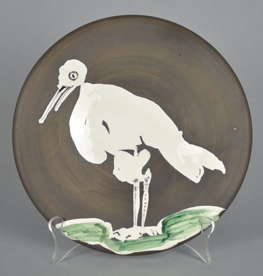 Pablo Picasso Ceramic, Oiseau No. 83 (Bird No. 83), 1963