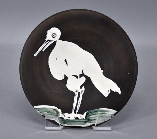 Pablo Picasso Ceramic, Oiseau No. 83 (Bird No. 83), 1963 A.R. 483