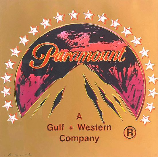 Andy Warhol Screen Print, Paramount, from the Ad Series, 1985