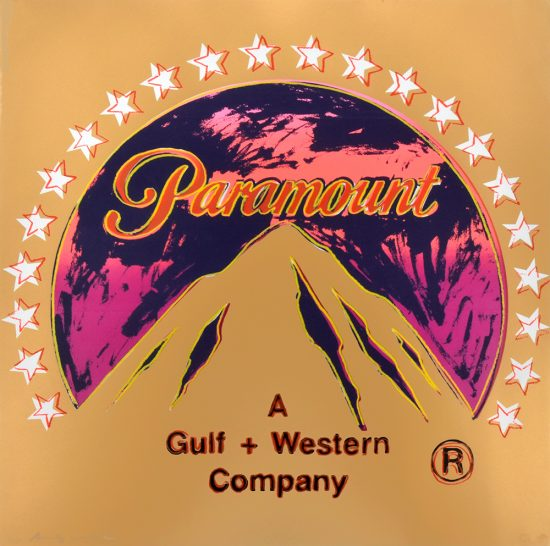 Andy Warhol Screen Print, Paramount, from the Ad Series, Unique Trial Proof