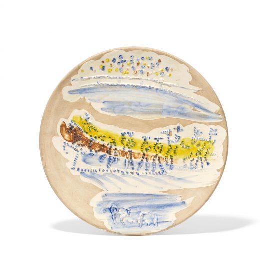 Pablo Picasso Ceramic, Paseo, from Service Scènes de Corrida (Set of 7 plates), 1959