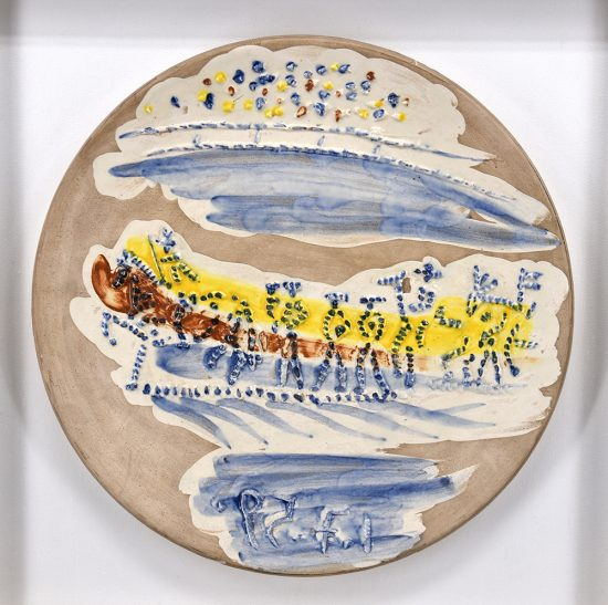Pablo Picasso Ceramic, Paseo, from Service Scènes de Corrida, 1959 A.R. 416