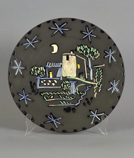 Pablo Picasso Ceramic, Paysage (Landscape), 1953