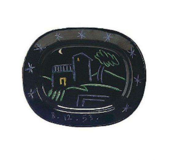 Pablo Picasso Ceramic, Paysage (Landscape), 1953 A.R. 204