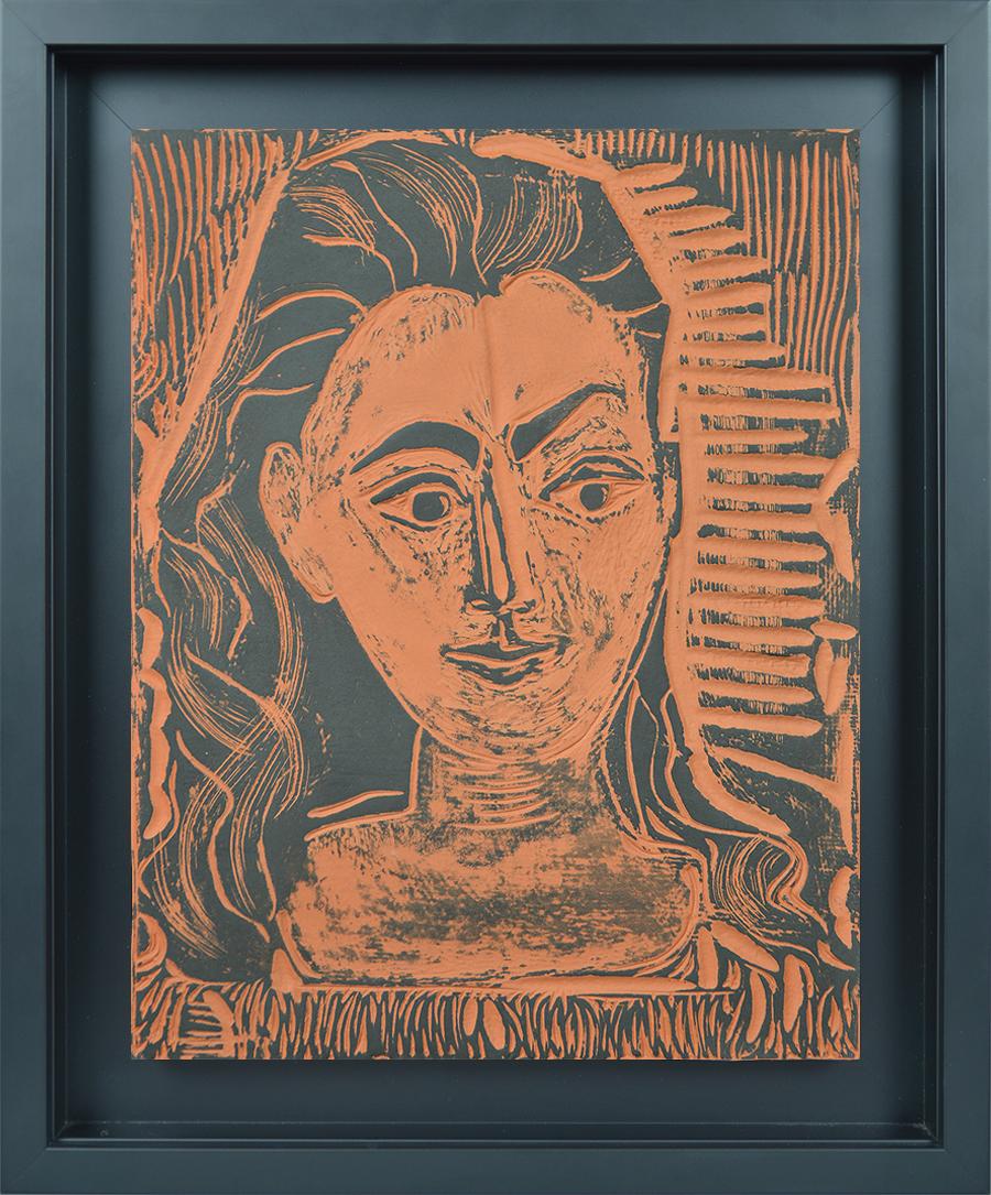 Pablo Picasso, Petit Buste de Femme (Little Bust of Woman), 1964 ...