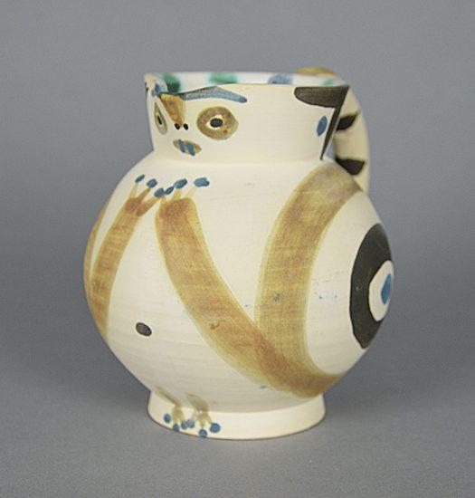 Pablo Picasso Ceramic, Petite Chouette (Small Wood-Owl), 1949
