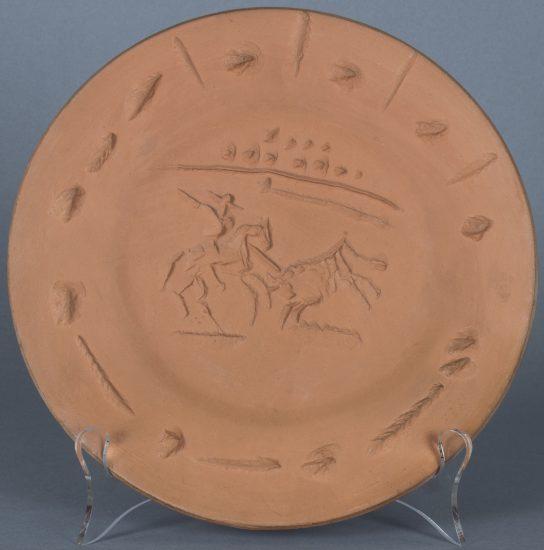 Pablo Picasso Ceramic, Picador, 1953 A.R. 200