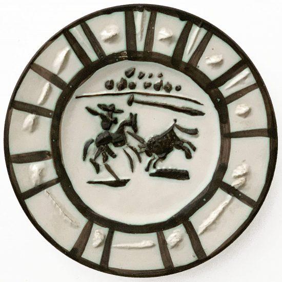 Pablo Picasso Ceramic, Picador, 1953 A.R. 201