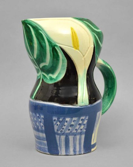 Pablo Picasso Ceramic, Pichet aux Arums (Pitcher with Arums), 1953 A.R. 189