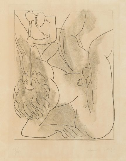 Henri Matisse Etching, Polyphème from Ulysses, 1935