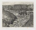 Claude Monet Lithograph, Port Domois á Belle-île (Port Domois at Belle-Isle), 1894