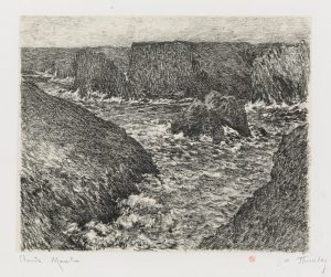 Claude Monet Lithograph, Port Domois á Belle-île (Port Domois at Belle-Isle), 1894