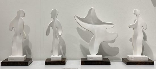 Pablo Picasso Ceramic, Set of Four Ceramics Sculptures, 1965
