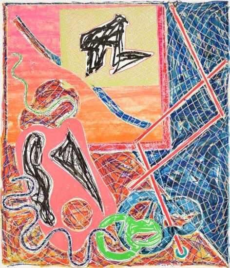 Frank Stella Lithograph, Shards Portfolio of 5 works, 1982
