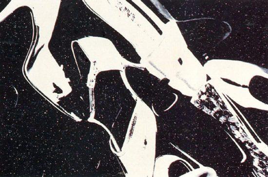 Andy Warhol Silkscreen, Shoes, 1980 FS II.255