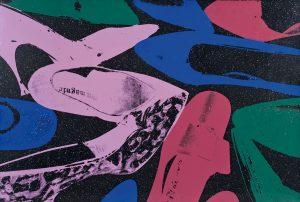 Andy Warhol Screen Print, Shoes, 1980