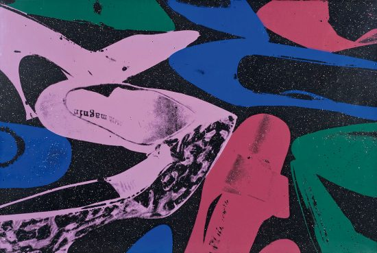 Andy Warhol Screen Print, Shoes, 1980