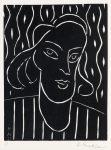 Henri Matisse Linocut, Teeny, 1938