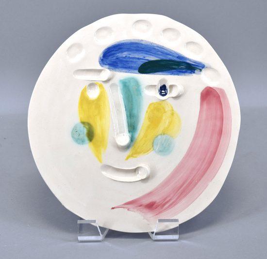 Pablo Picasso Ceramic, Tête (Head), 1956 A.R. 372