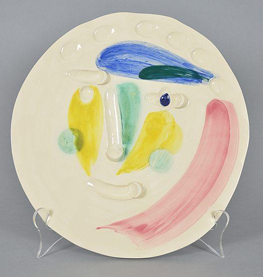 Pablo Picasso Ceramic, Tête (Head), 1956