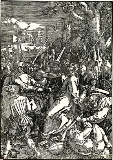 Albrecht Dürer Woodcut, The Betrayal Of Christ (The Large Passion), 1510