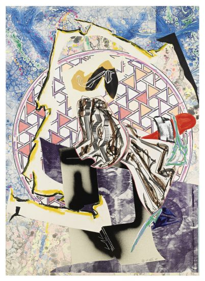 Frank Stella Screen Print, The Great Heidelburgh Tun (From The Waves Series), 1988