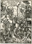 Albrecht Dürer Woodcut, The Lamentation (the Large Passion), c.1498-99