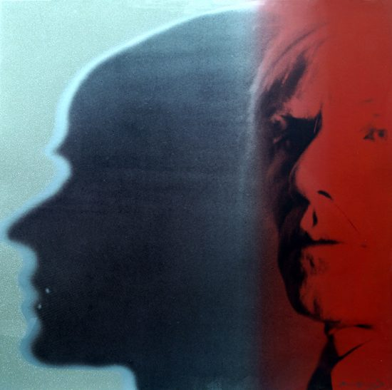 Andy Warhol Screen Print, The Shadow, from the Myths Series, 1981
