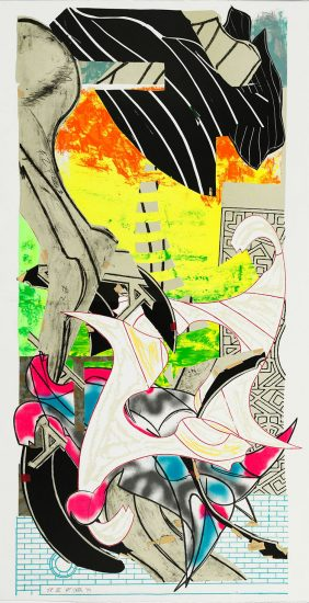Frank Stella Lithograph, The Symphony, 1990