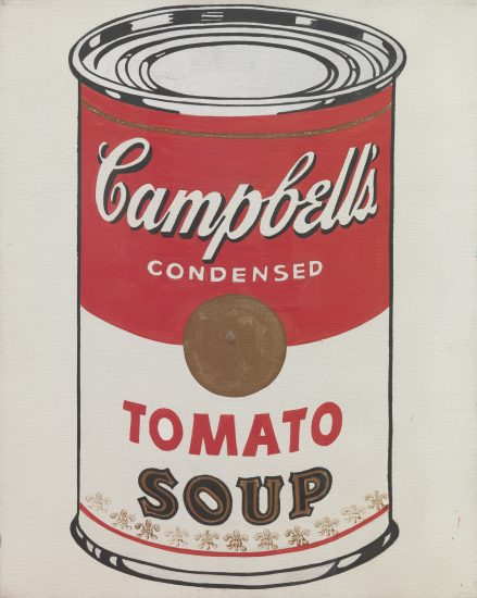 Andy Warhol Screen Print, Tomato Soup, Campbell's Soup I