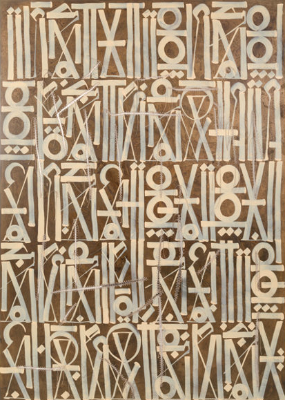 Retna acrylic Untitled for sale (image 1)