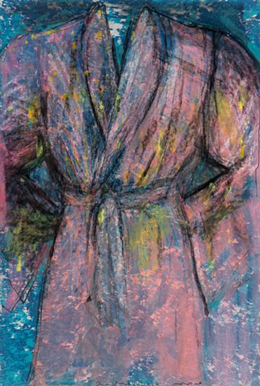 Jim Dine Monoprint, Untitled (Robe), 2006