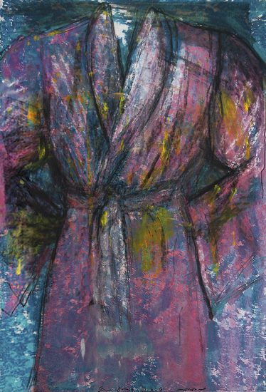 Jim Dine Lithograph, Untitled (Robe), 2006