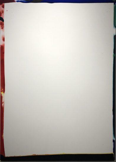 Sam Francis Acrylic, Untitled, 1966
