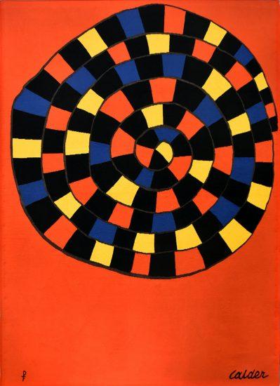 Alexander Calder Lithograph, Untitled, 1970