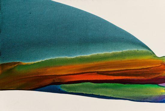 Paul Jenkins Painting, Untitled, 1974